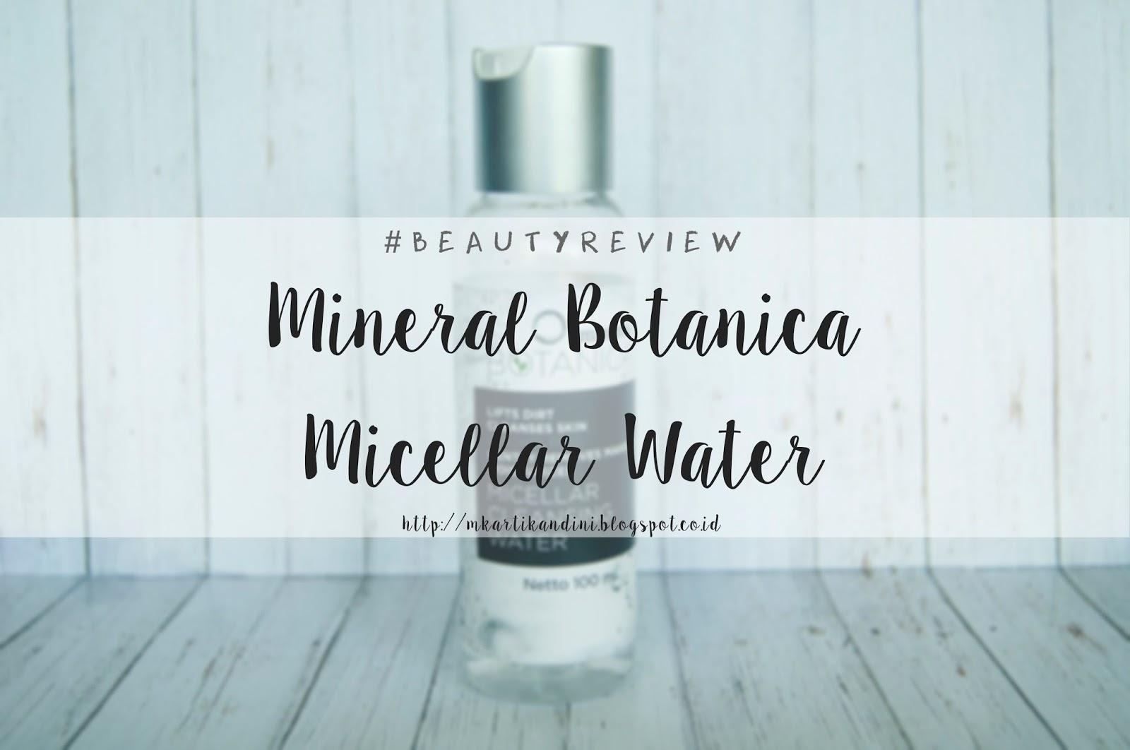 Mineral Botanica Micellar Water
