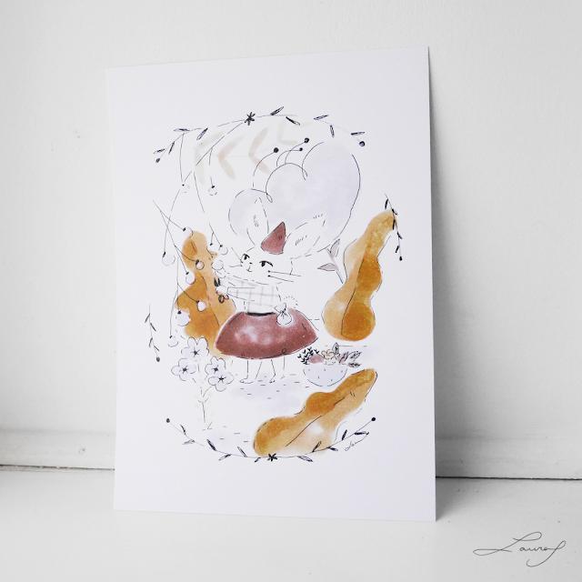 illustration, bugs, cute, print, shop, ilustración, tictail, bunny, conejita