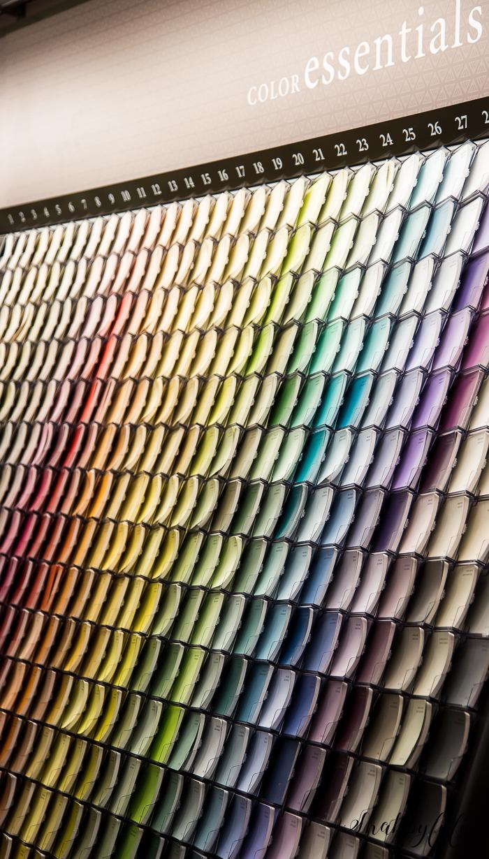 benjamin moore paints color palette