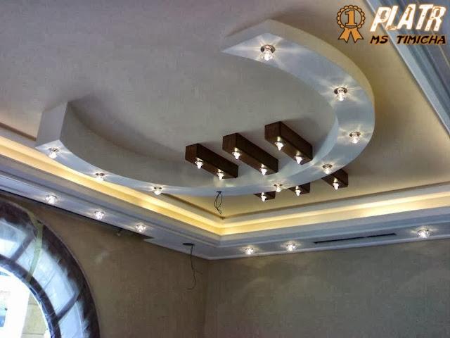 platre marocain plafond