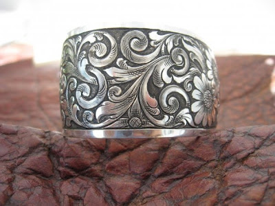 talented in all areas above bridle loop conchos below trophy buckle - Western Wedding Rings