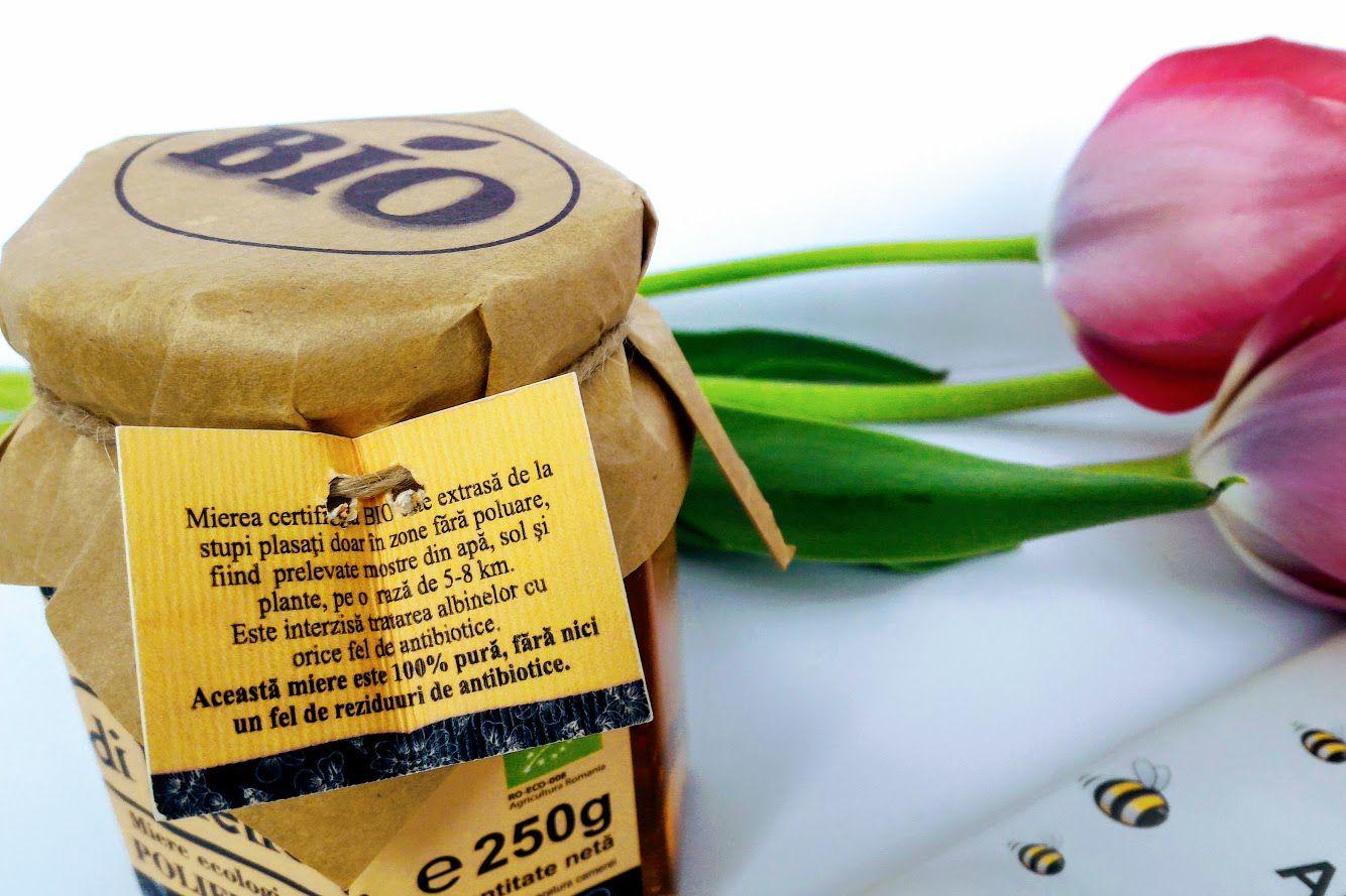 miere de albine ecologică, BIO
