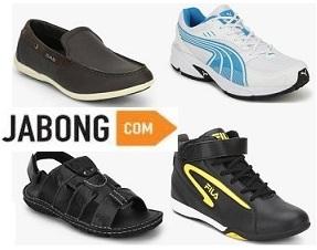 Jabong End of Season Sale: Upto 70% Off on Men's Footwear + Extra Cashback with SBI Credit Card & Paytm wallet