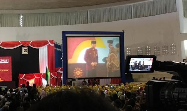 Presiden Jokowi di Universitas Muhammadiyah Malang