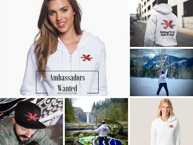 ExtraHyperActive brand ambassador