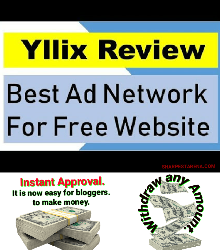 Monetize: Best CPM Ad Network for your blog, Try Yllix