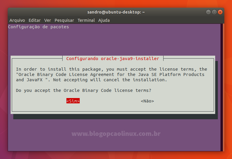 Como instalar o Oracle Java 9 (JDK 9) no Ubuntu, Linux Mint