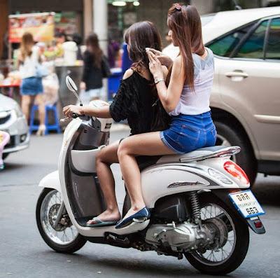 Новый скутер Honda scoopy 110