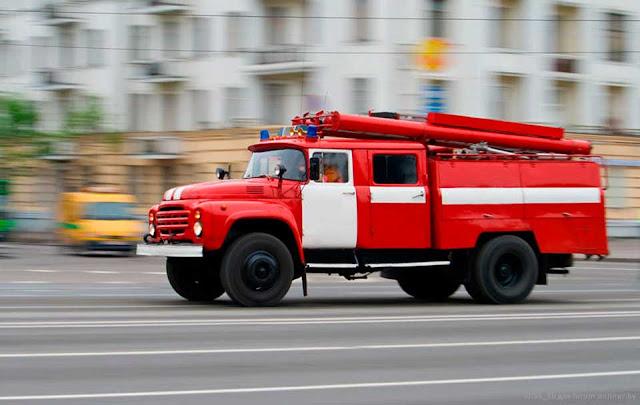 В Василькове сгорел частный дом Сергиев Посад