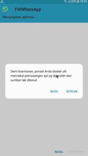 Download FM Whatsapp Apk Mod (Fitur Plus) Versi Terbaru 2019 For Android