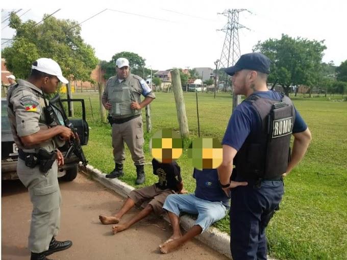 Cercamento eletrônico auxilia na recuperação de um veículo em Cachoeirinha
