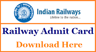 rrb  2018 Admit Card