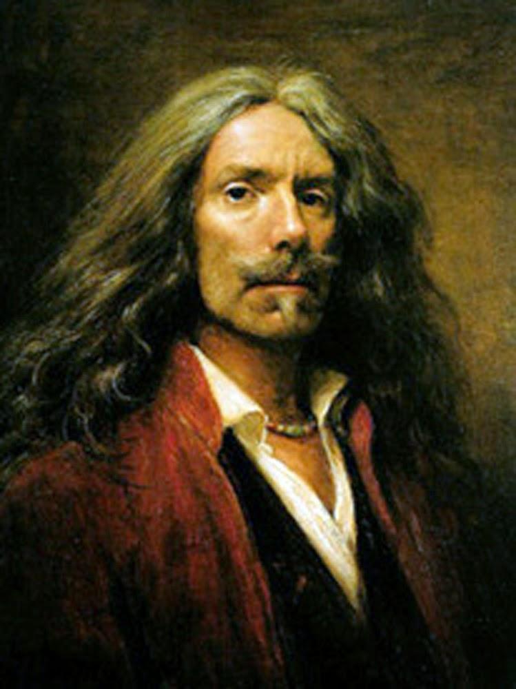 Cornelis le Mair, Self Portrait, Portraits of Painters, Fine arts, Painter Cornelis le Mair