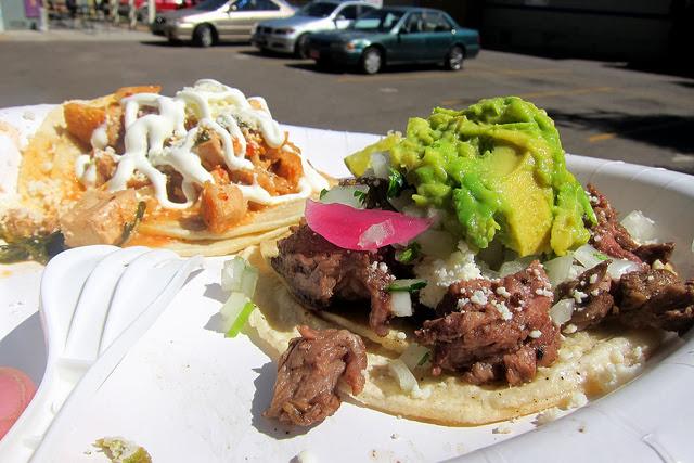 Beef Tongue Tacos