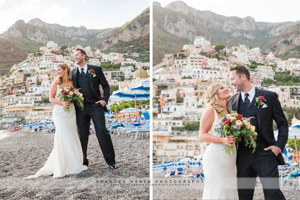 Elopement wedding in Positano