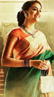 Keerthy Suresh in Green Saree Mahanati