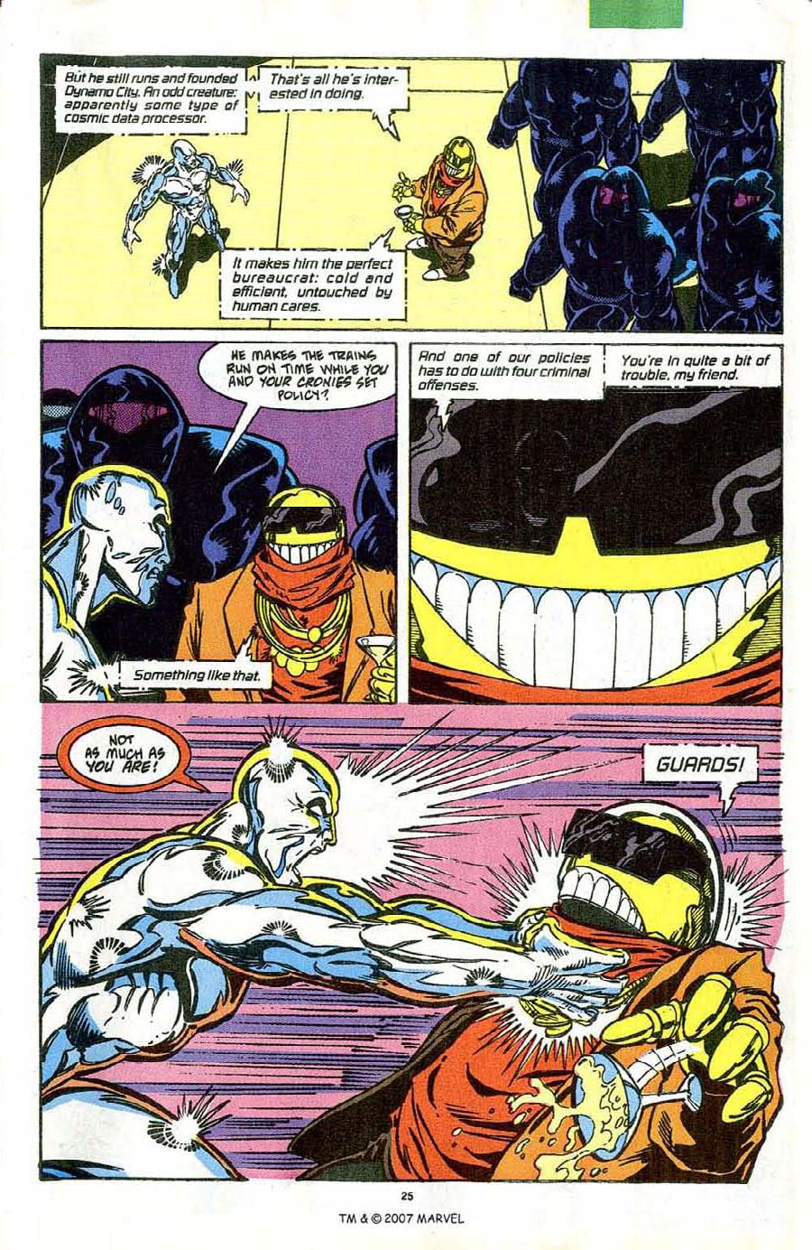 Read online Silver Surfer (1987) comic -  Issue #42 - 27