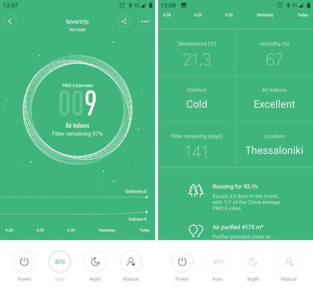 Xiaomi Mi Home app