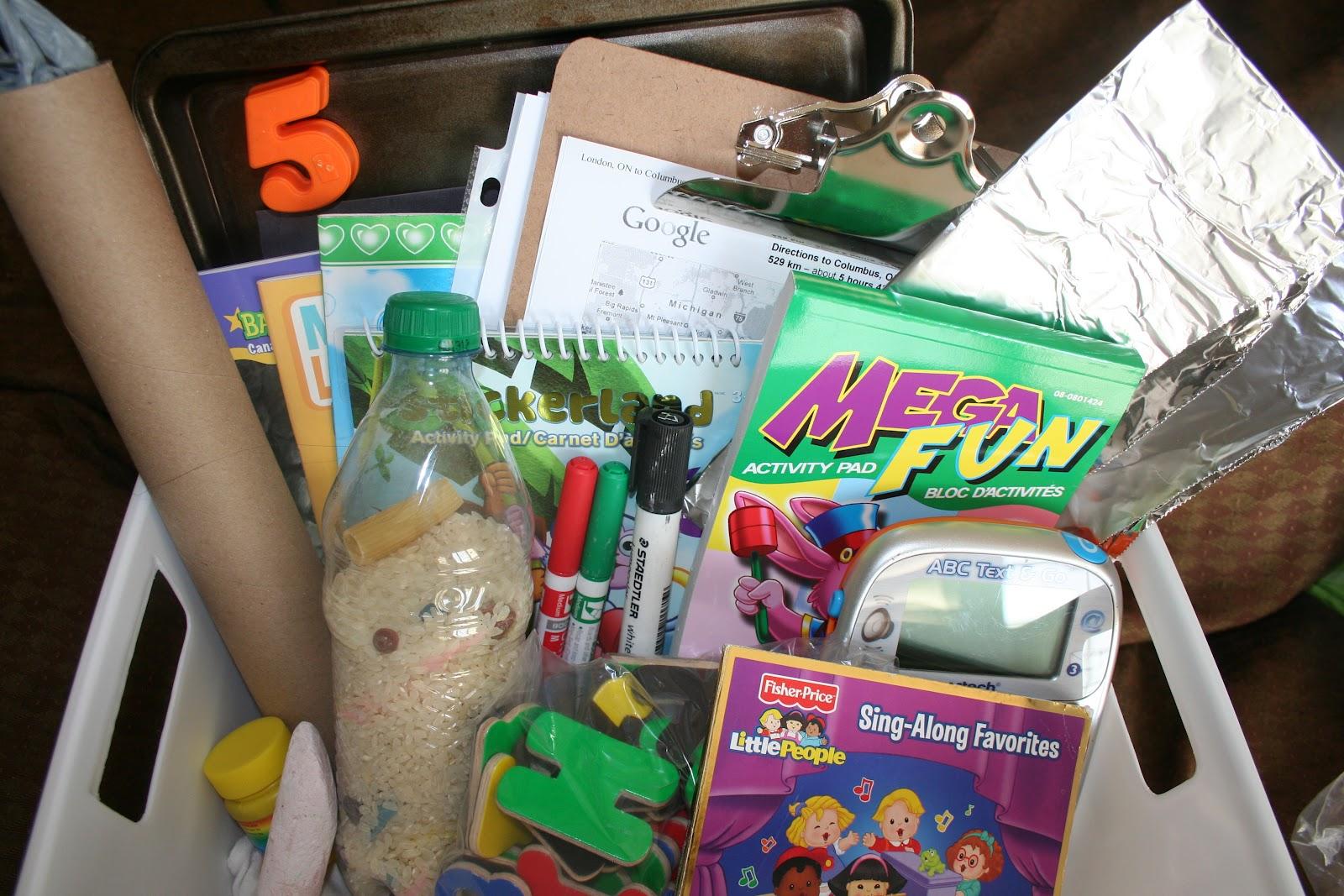 Ilderton Parents Resource Kids Road Trip Survival Kit