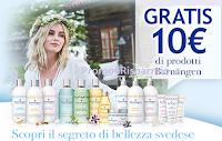 Logo Henkel, Grey e Vape ti regalano 10€ di prodotti Barnängen : ProvamiGratis!