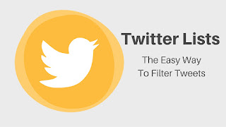 Twitter Lists: The Easy Way To Filter Tweets #SeptVidChallenge