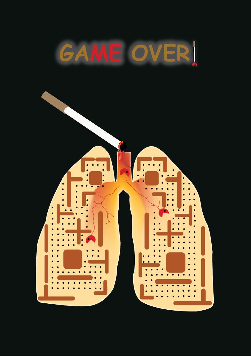 design journal  no smoking quiz poster
