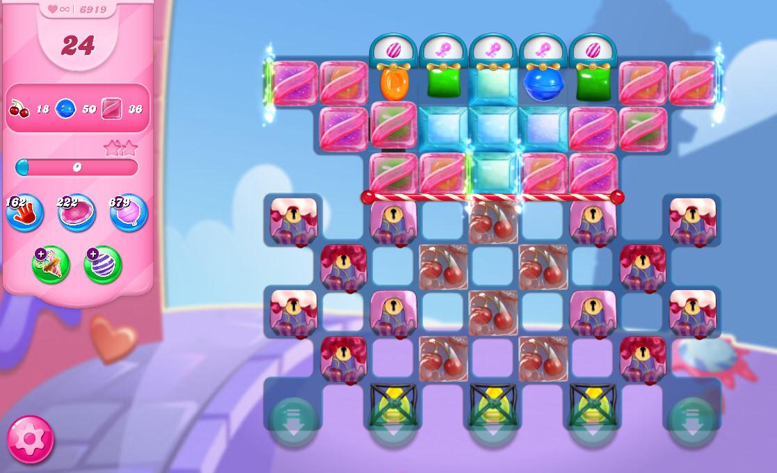 Candy Crush Saga level 6919