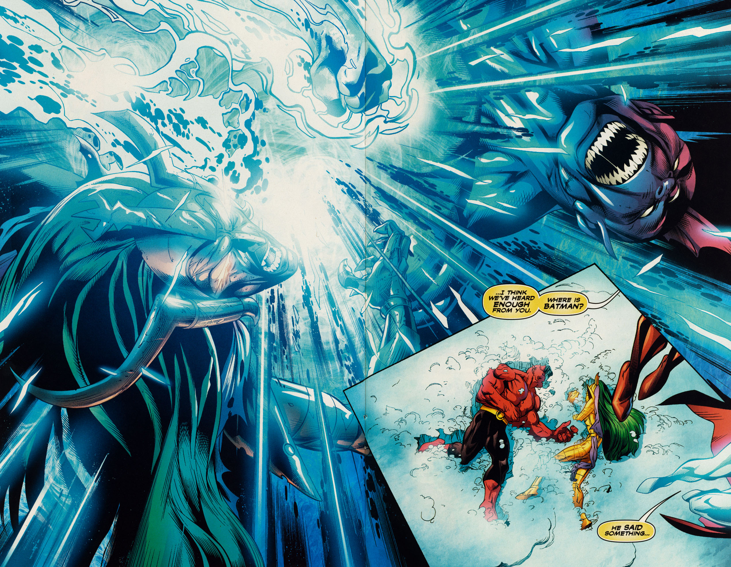 Read online Trinity (2008) comic -  Issue #51 - 18