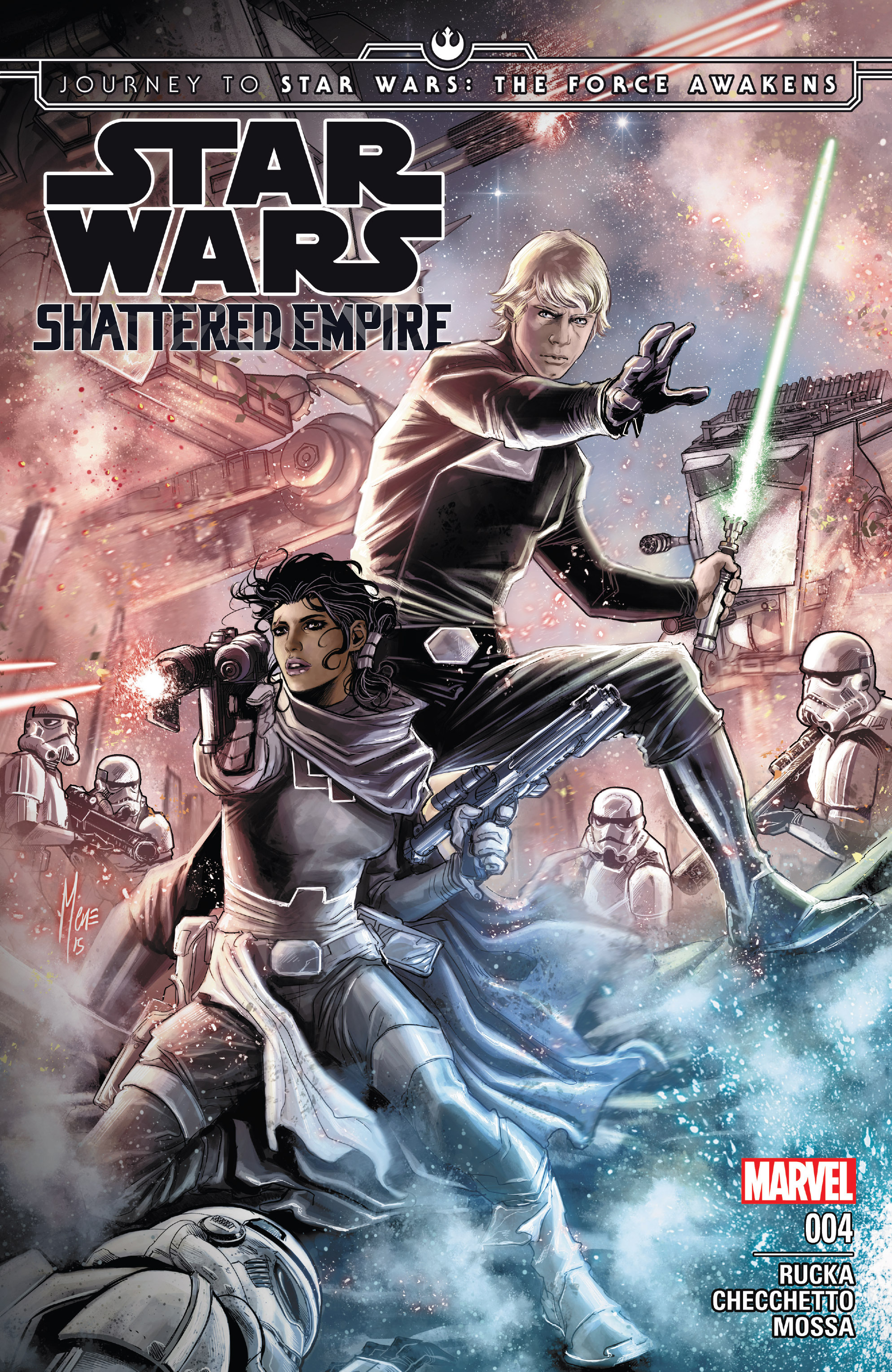 Journey to Star Wars: The Force Awakens - Shattered Empire 4 Page 1
