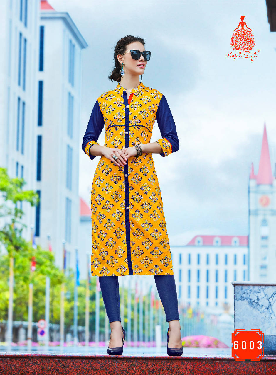 TOWN BEAUTY VOL-6 -New Arrival Designer Cotton Kurti