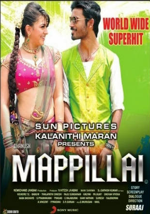 Mappillai 2011 Hindi Dubbed Movie Download HDRip 720p Dual Audio In Hindi English