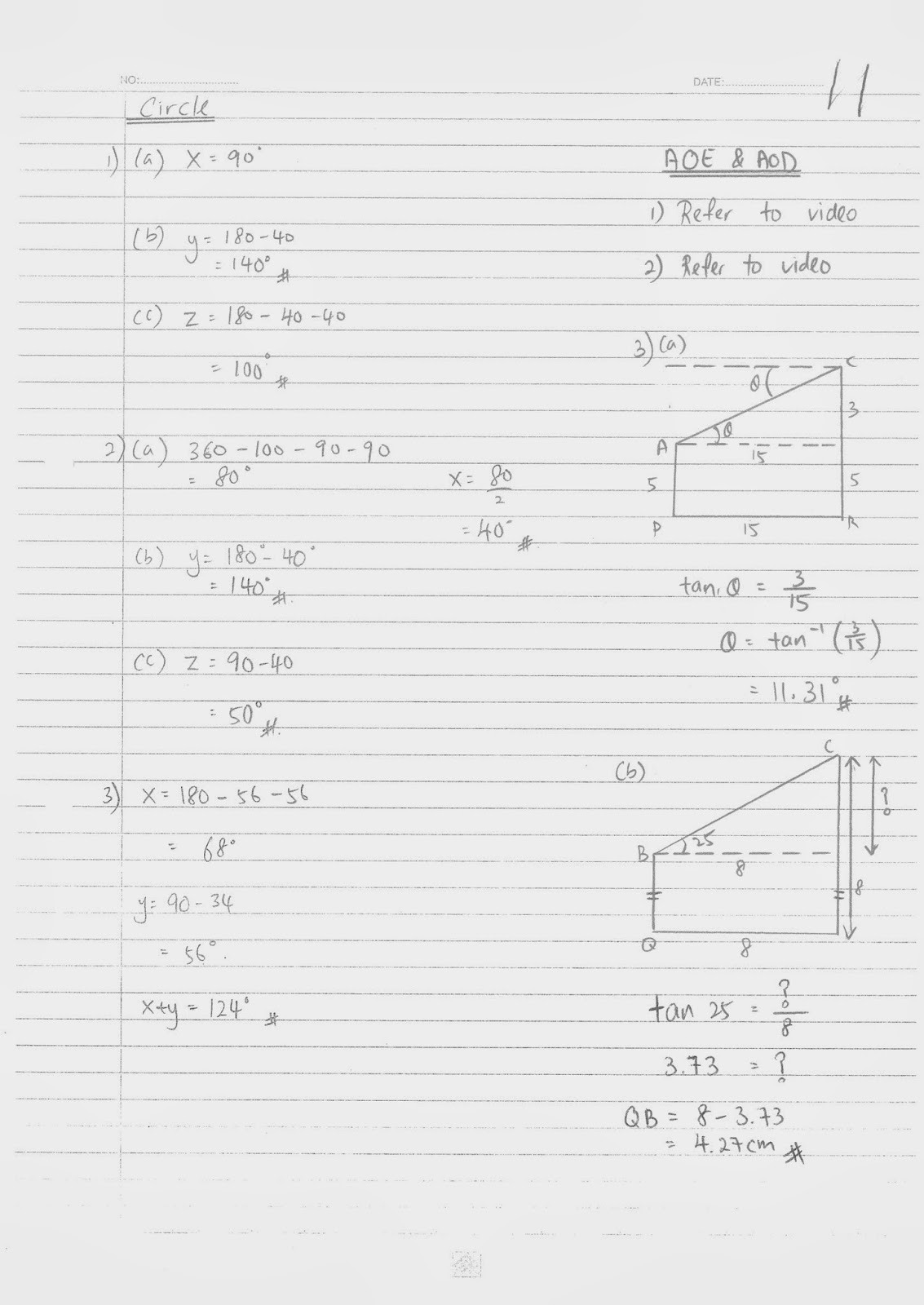 TTC MATHS DEPARTMENT: Form 4 Final Exam Reivsion Pack-Full