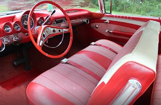 1960 Chevrolet Impala Sports Coupe Interior