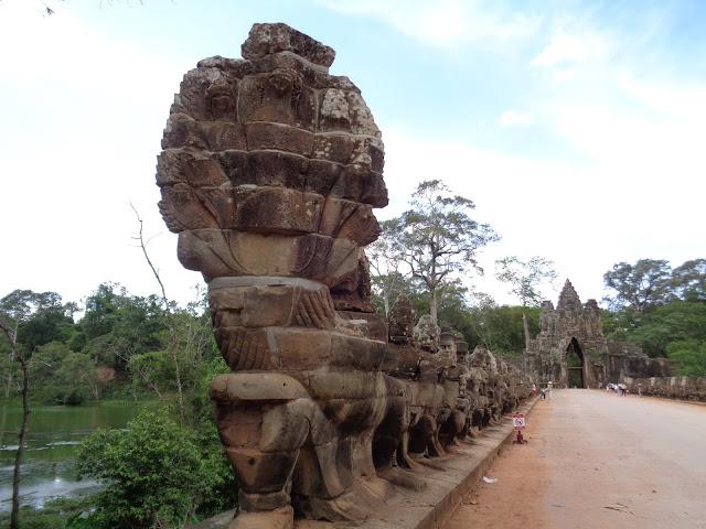 Puerta de la Victoria - Angkor Wat (Camboya)