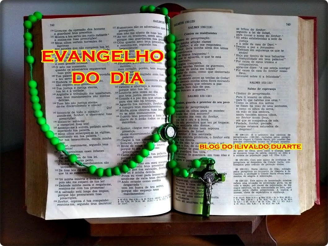 Blog do Ilivaldo Duarte  EVANGELHO DO DIA quinta-feira 2a52c9757f04d