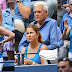 Mirka Federer At Us Open Tennis Championships In Flushing Meadows