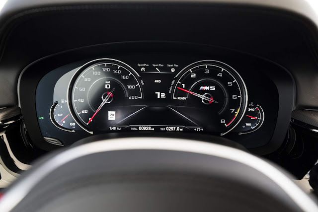 BMW M5 2018 - recall por possibilidade de pane seca - Brasil