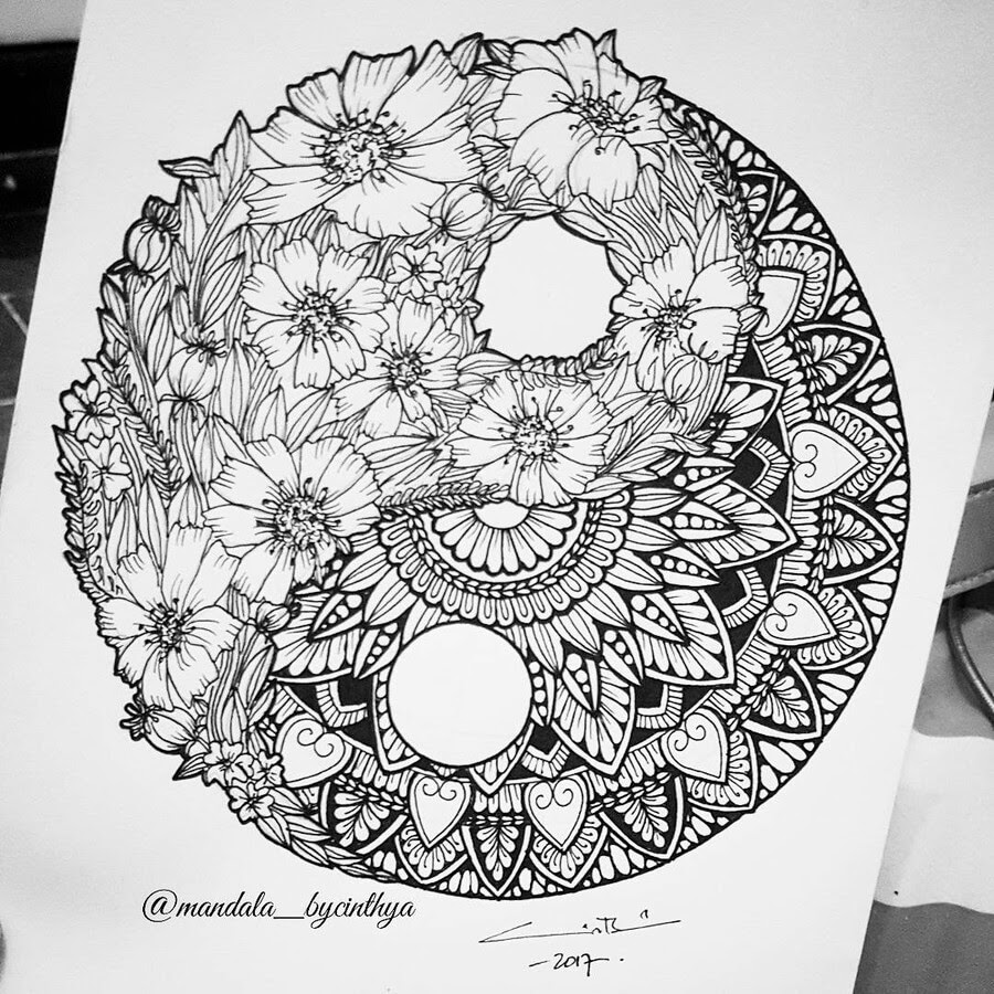 02-Yin-and-Yang-Bycinthya-Mandala-Designs-www-designstack-co