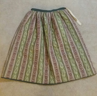 Victorian, Pre-Civil War Quilted Petticoat