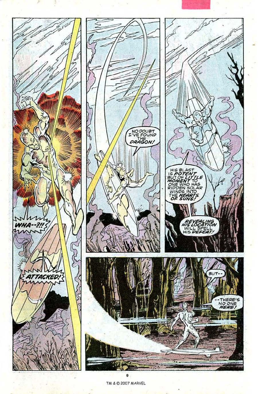 Read online Silver Surfer (1987) comic -  Issue #23 - 11