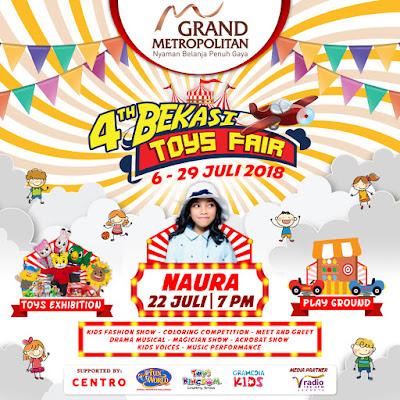 Acara Bulan Juli 2018 Bekasi Toys Fair 2018