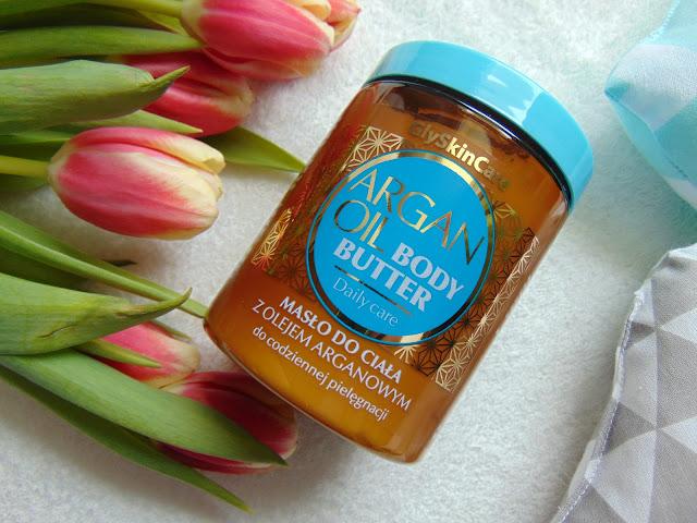 GlySkinCare ARGAN OIL BODY BUTTER - Masło do ciała z olejem arganowym