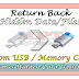 Recover Hidden Data From USB Drive