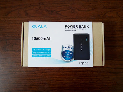 OLALA 10500mAh 2 Port Power Bank