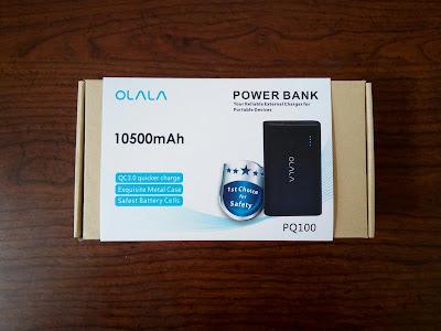 OLALA 10500mAh 2 Port Power Bank