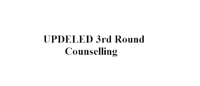 UPDELED Third Round Counselling