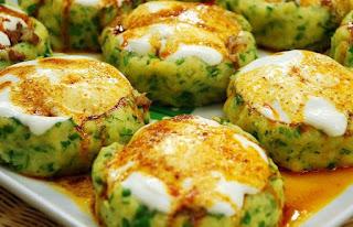 Potato Patties (Patates Koftesi)
