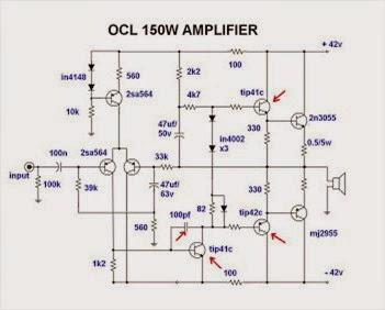 cara mengatasi tansistor power amplifier 150 w panas berlebihan alelektronika. Black Bedroom Furniture Sets. Home Design Ideas