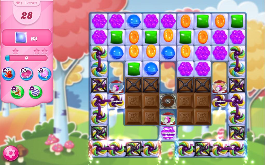 Candy Crush Saga level 6109