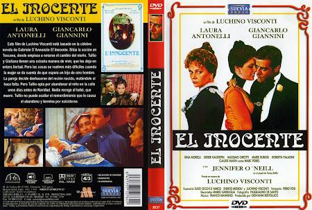 Descargar carátula dvd El inocente 1976